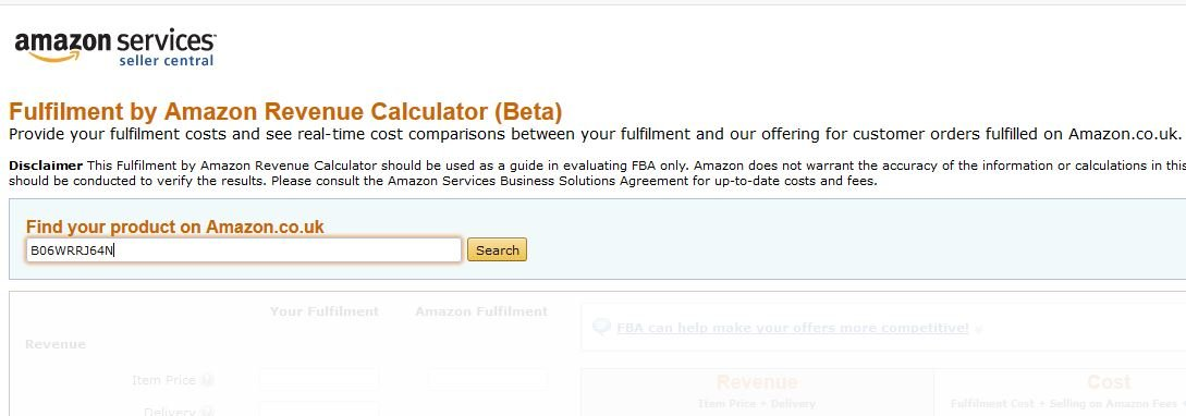 Amazon Revenue Calculator Retail Arbitrage