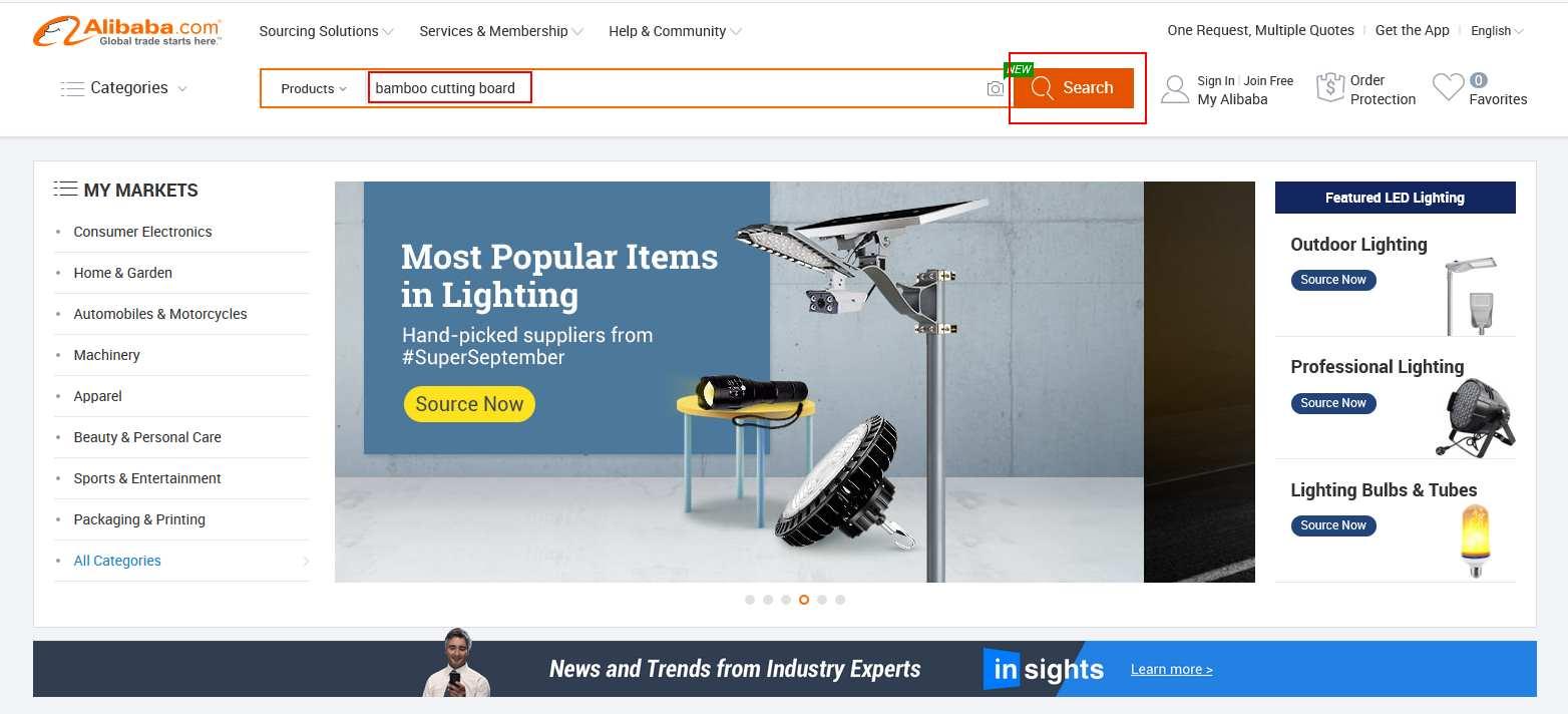 Alibaba Amazon FBA