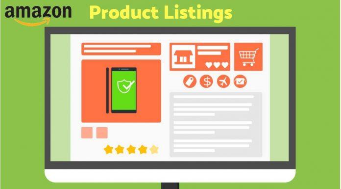 Creating Amazon listings