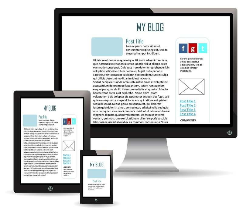 Blog mobile compatibility