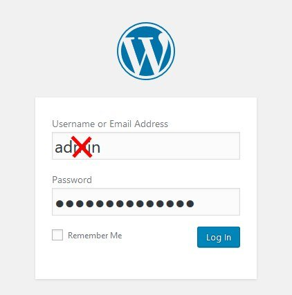 Commong blogging mistakes Admin WordPress Login