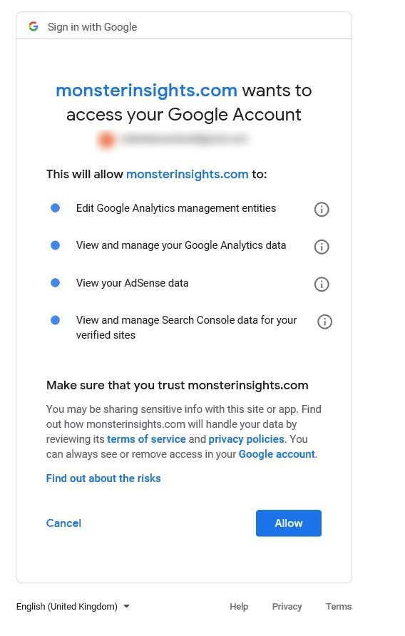Tracking affiliate links with MonsterInsights