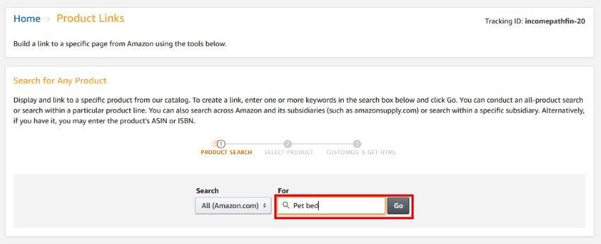 Amazon Associate Product Links