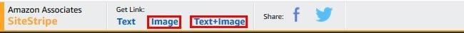 SiteStripe Images