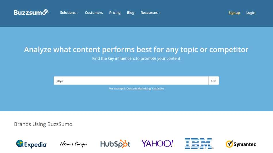 Using BuzzSumo for Blog Content Promotion