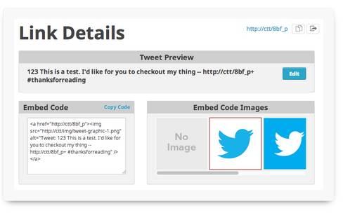 Using ClickToTweet for Blog Promotion