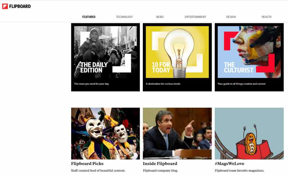 Using Flipboard for Blog Content Promotion