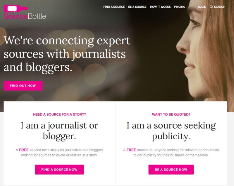 Using SourceBottle for Blog Promotion