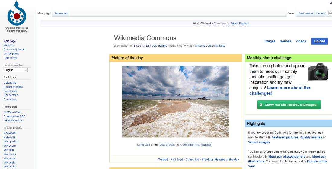 Using Wikimedia Commons To Find Stock Images
