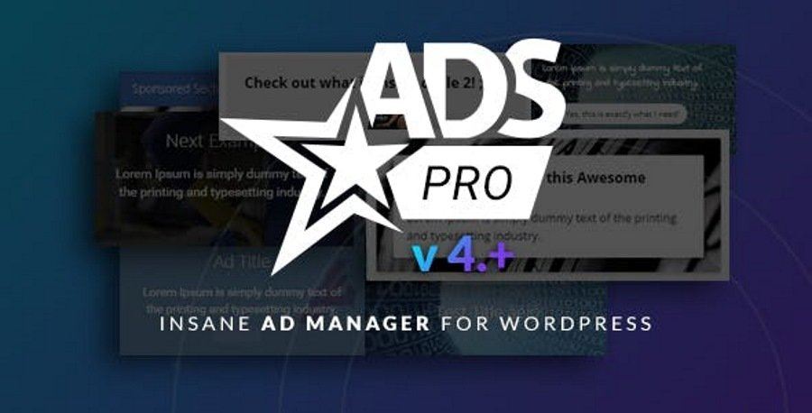Using Ads Pro WordPress plugin