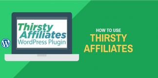 Using ThirstyAffiliates for Affiliate Marketing