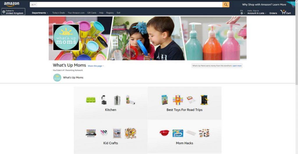 Amazon Influencer Program Example