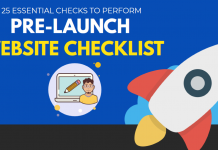 Pre-Launch Website Checklist