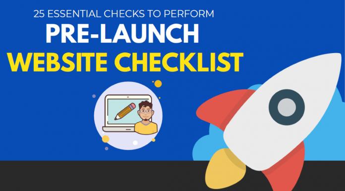 Pre-Launch Website Checklist