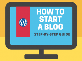 Starting a Blog Guide - Step-by-Step Guide